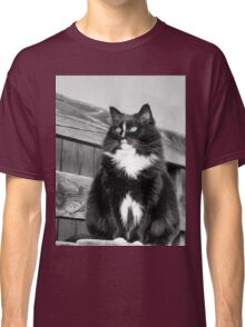 Zoe sitting green -1P- Andre Hote Photography Classic T-Shirt