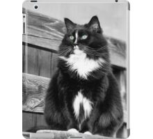 Zoe sitting green -1P- Andre Hote Photography iPad Case/Skin