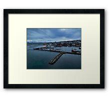 Tromso Harbour Framed Print