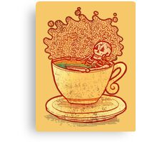 Tea Team Canvas Print