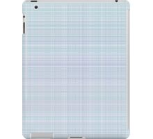 simple plaid seamless pastel pattern iPad Case/Skin