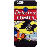 Detectives Comics Issue 27 Products | Batman First Appearence iPhone Case/Skin