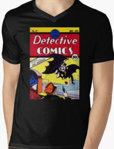 Detectives Comics Issue 27 Products   Batman First Appearence Mens V-Neck T-Shirt