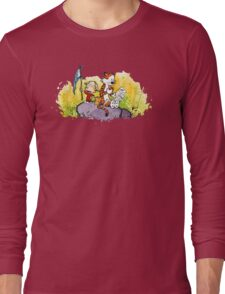 Calvin & Hobbes : Imagination Rules Long Sleeve T-Shirt