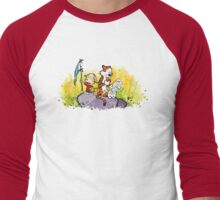 Calvin & Hobbes : Imagination Rules Men's Baseball ¾ T-Shirt