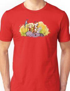 Calvin & Hobbes : Imagination Rules Unisex T-Shirt