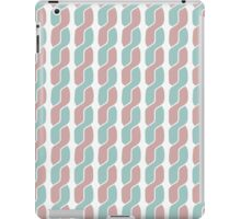simple retro pattern iPad Case/Skin