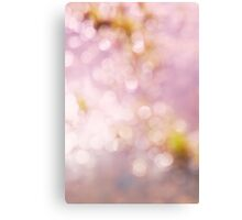 Abstract blurred background Canvas Print