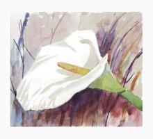 ARUM LILY (Zantedeschia aethiopica) One Piece - Short Sleeve