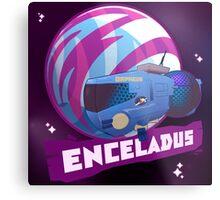 Enceladus Loaded for Space Bear! Metal Print