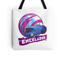 Enceladus Loaded for Space Bear! Tote Bag
