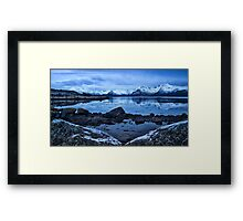 Arctic Reflections Framed Print