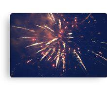 Firework. Canvas Print