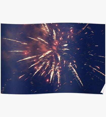 Firework. Poster