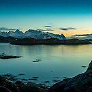 Lofoten Sunrise by mlphoto