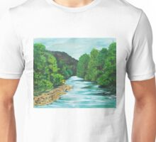 the meeting of the waters Unisex T-Shirt