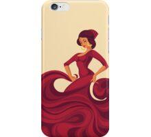 Gypsy Flamenco Passionate Dance iPhone Case/Skin