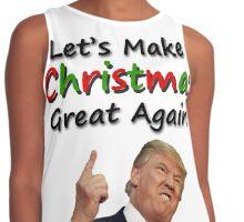 Trump Christmas Contrast Tank