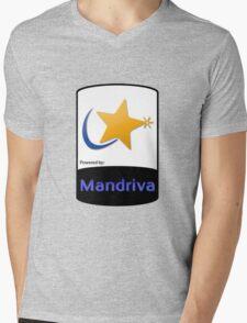 Mandriva [HD] Mens V-Neck T-Shirt