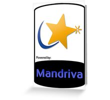 Mandriva [HD] Greeting Card