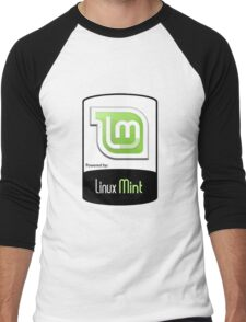 Linux MINT ! [HD] Men's Baseball ¾ T-Shirt