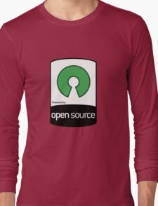 Powered by Open Source ! [HD] Long Sleeve T-Shirt