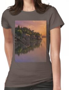 Stone Hill Landscape Womens Fitted T-Shirt