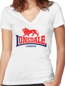 LONSDALE LONDON Women's Fitted V-Neck T-Shirt