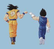 Goku and Vegeta Kids Tee