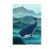 Wondering Whale - LIMITED EDITION Art Print