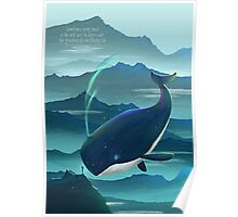 Wondering Whale - LIMITED EDITION Poster