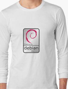 Powered by DEBIAN ! Long Sleeve T-Shirt