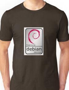 Powered by DEBIAN ! Unisex T-Shirt
