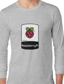 Powered by Raspberry ! Long Sleeve T-Shirt