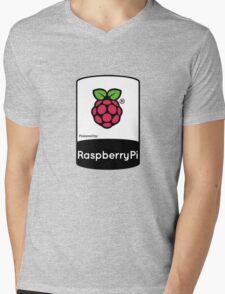 Powered by Raspberry ! Mens V-Neck T-Shirt