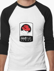 Powered by REDhat ! Men's Baseball ¾ T-Shirt