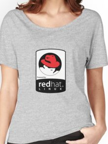 Powered by REDhat ! Women's Relaxed Fit T-Shirt