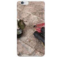 Ancient Sat-Nav iPhone Case/Skin