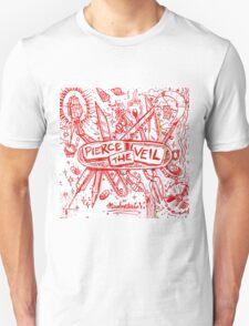 PIERCE THE VEIL MISADVENTURES WHITE 2016 Unisex T-Shirt