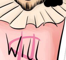 Will(iam) Shake(speare) Sticker