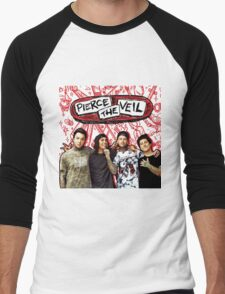 PIERCE THE VEIL MISADVENTURES PERSONEL 2016 Men's Baseball ¾ T-Shirt