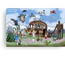 Studio Ghibli Tribute II Canvas Print