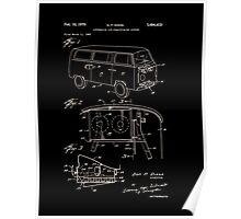 V W Van Patent 1970 Poster