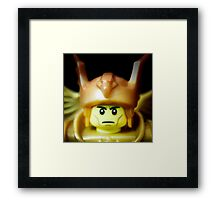 This Angel is Your Protector and Helper Framed Print