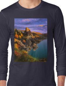 Baycal Lake Landscape Long Sleeve T-Shirt