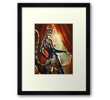 The Royal Cats' Girlfriend Feline Framed Print
