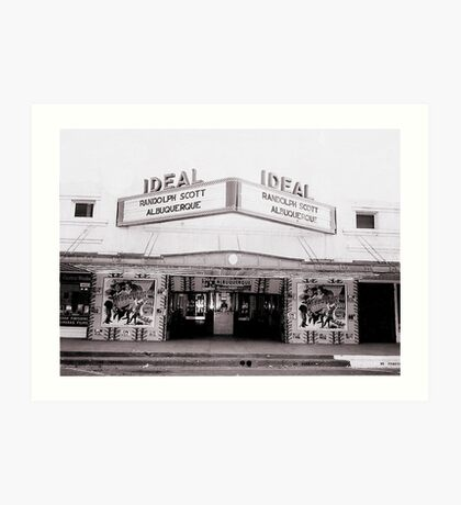 Ideal Theater ~ Now Showing... Art Print