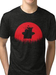 Piccolo Jr Red Moon Tri-blend T-Shirt