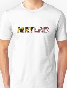 MRYLND flag design  T-Shirt