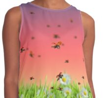 ladybug  Contrast Tank